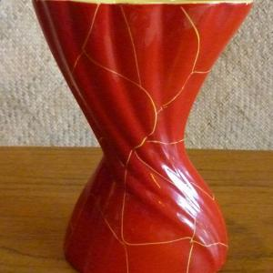 1950_s_foreign_red_&_yellow_vase