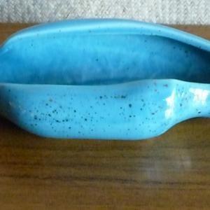 1950_s_marcia_of_california_blue_&_gold_dish