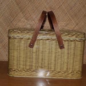 1960_s_fake_wicker_effect_picnic_basket_tin