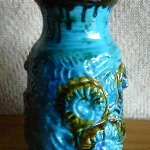 west_german_blue_vase