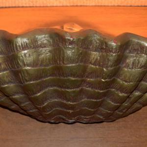 1950s_plaster_clam_shell_wall_light_uplighter