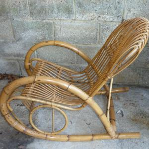 1960_s_franco_albini_style_bamboo_rocking_chair