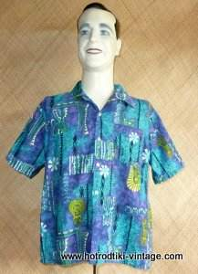1960_s_mens_blue_tiki_hawaiian_shirt_cu1