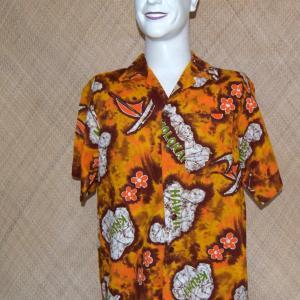 1960_s_mens_mustard_hawaiian_islands_shirt