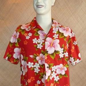 1960_s_red_&_pink_hawaiian_shirt
