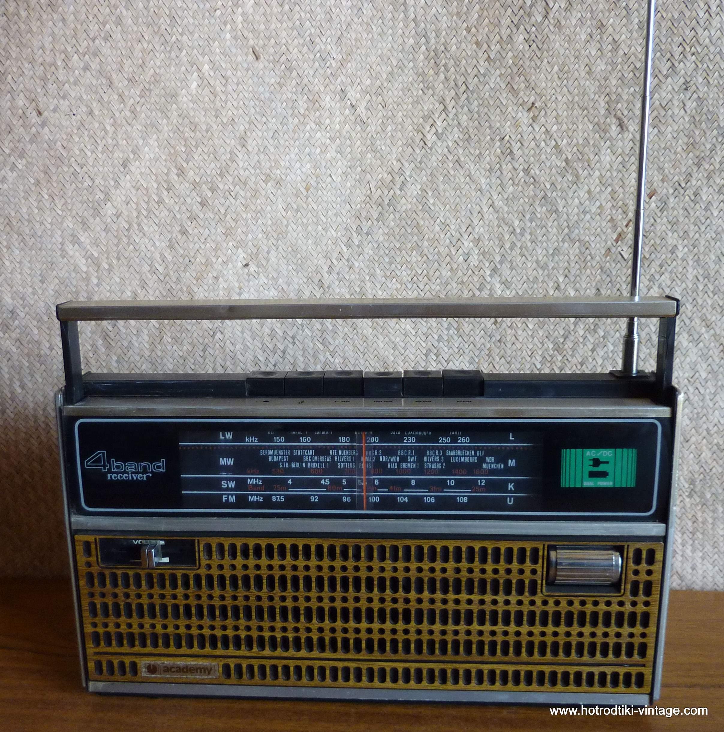 1970 U0026 39 S Academy Portable Transistor Radio