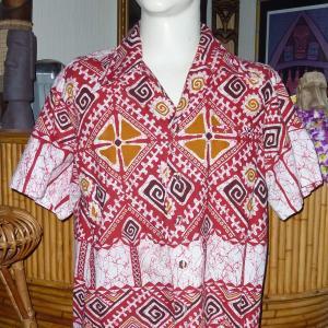 Vintage Red Hawiian Shirt