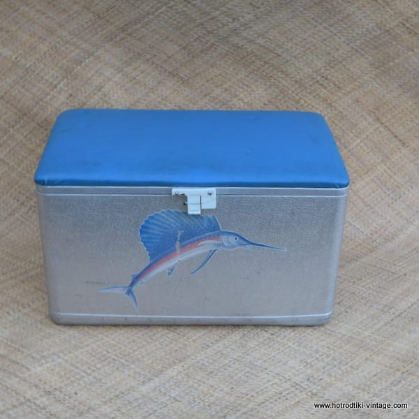 1960's Vintage 'Marlin' Ice Chest 1