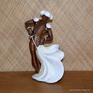 1960's Vintage Treasure Craft Matador Statue 1