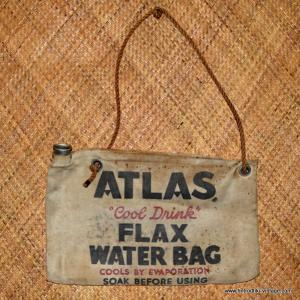 Vintage Atlas Water Bag 1