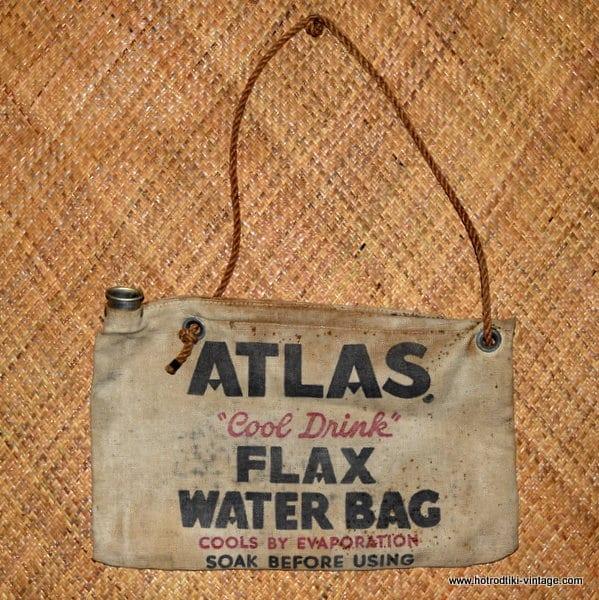 Vintage Atlas Water Bag 1