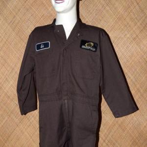 Vintage Mens Brown Dickies Overalls 1