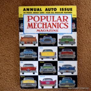 February 1957 Popular Mechanics Magazine 1