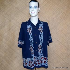 Mens Vintage Style O'Neill Hawaiian Shirt 1