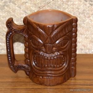 Vintage Kona Coffee Mill Plastic Handled Tiki Mug 1