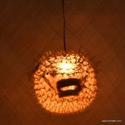 Extra Large Puffer Fish Lamp Clear 3