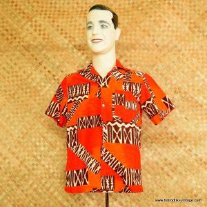 1960's Mens Momis Fashions Hawaiian Shirt 1