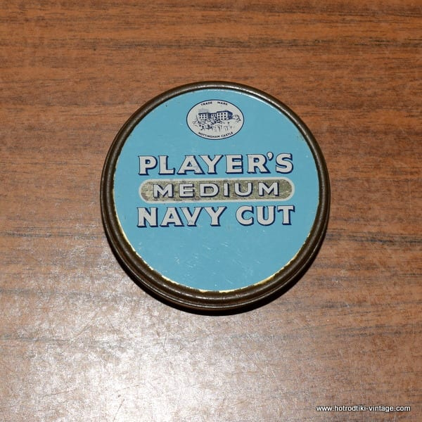 Players Navy Cut Tin 1
