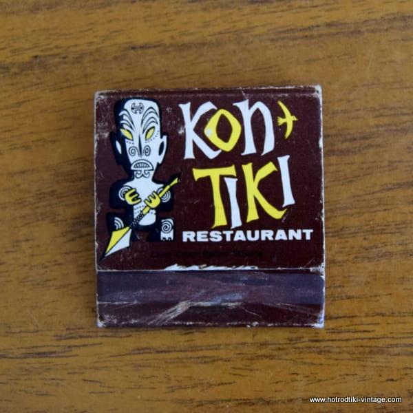 Vintage KonTiki Matchbook 1