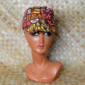 Vintage Style Ladies Roxy 60's Cap 1