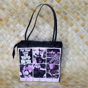 Vintage Coconut The Yardbirds Handbag 1