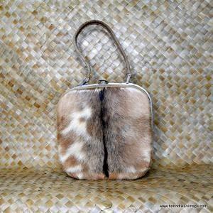 Vintage Fur Vanity Case 2