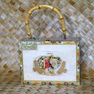 Vintage Romeo & Juliet Cigar Box Bag 1
