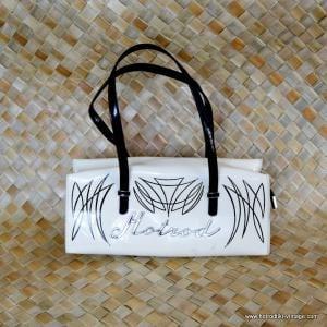 Vintage Style Hotrod Pinstriped Handbag 1