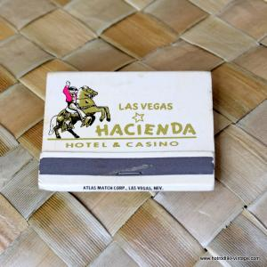 Vintage Hacienda Matchbook 1