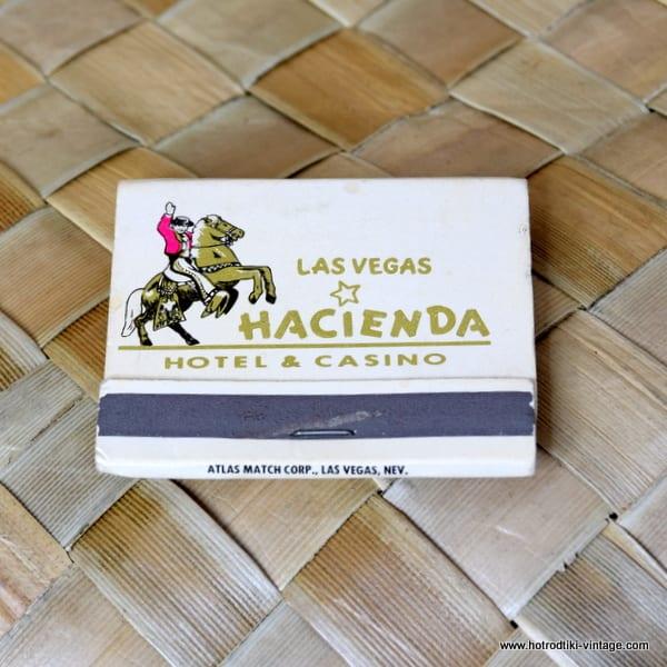 Vintage Hacienda Matchbook 1