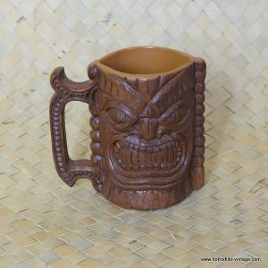 Vintage Plastic Kona Coffee Mill Plastic Tiki Mug 1
