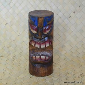 Vintage Style Wood Carved Painted Tiki 1
