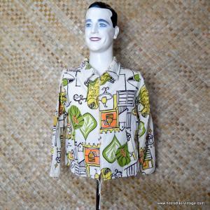 1960's Mens Vintage Beatnik Style Jacket 1