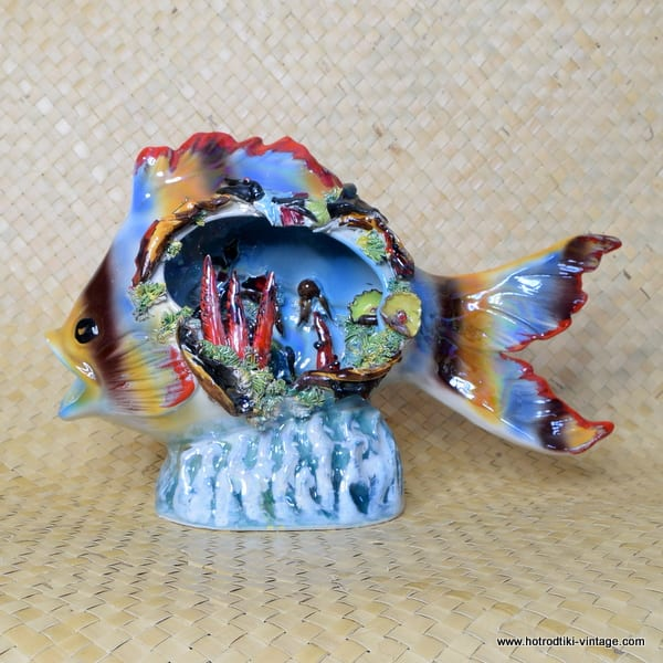 1960's Vintage Fish Statue Vallauris Style 1