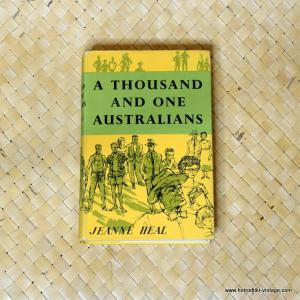 1959 A Thousand and One Australians by Janne Heal Book 1